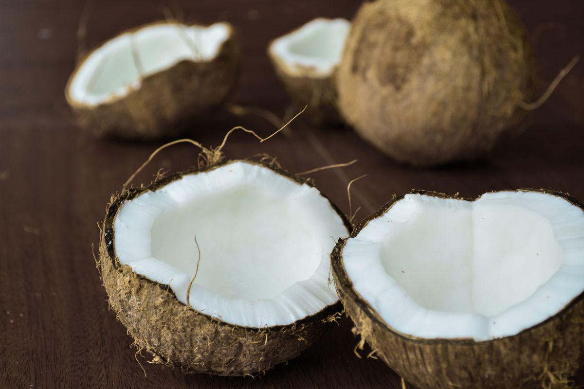 bajar peso con coco