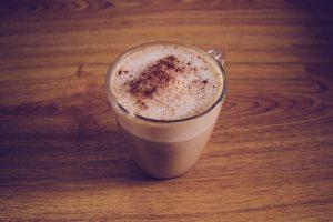 Café con leche sin nata para bajar de peso rápido