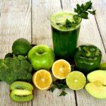Jugo verde para bajar de peso