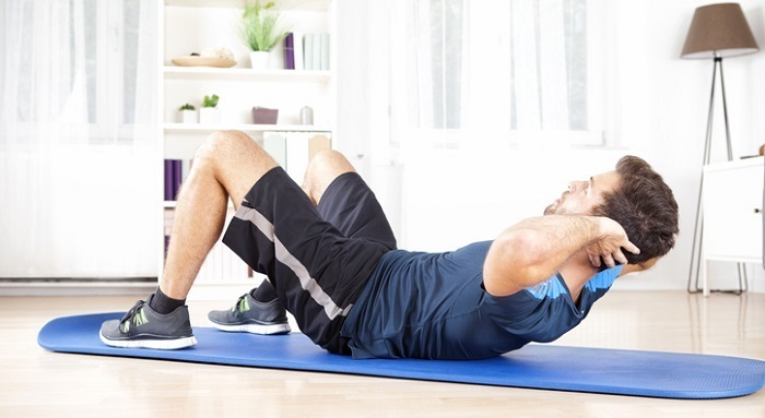 Hacer abdominales adelgaza